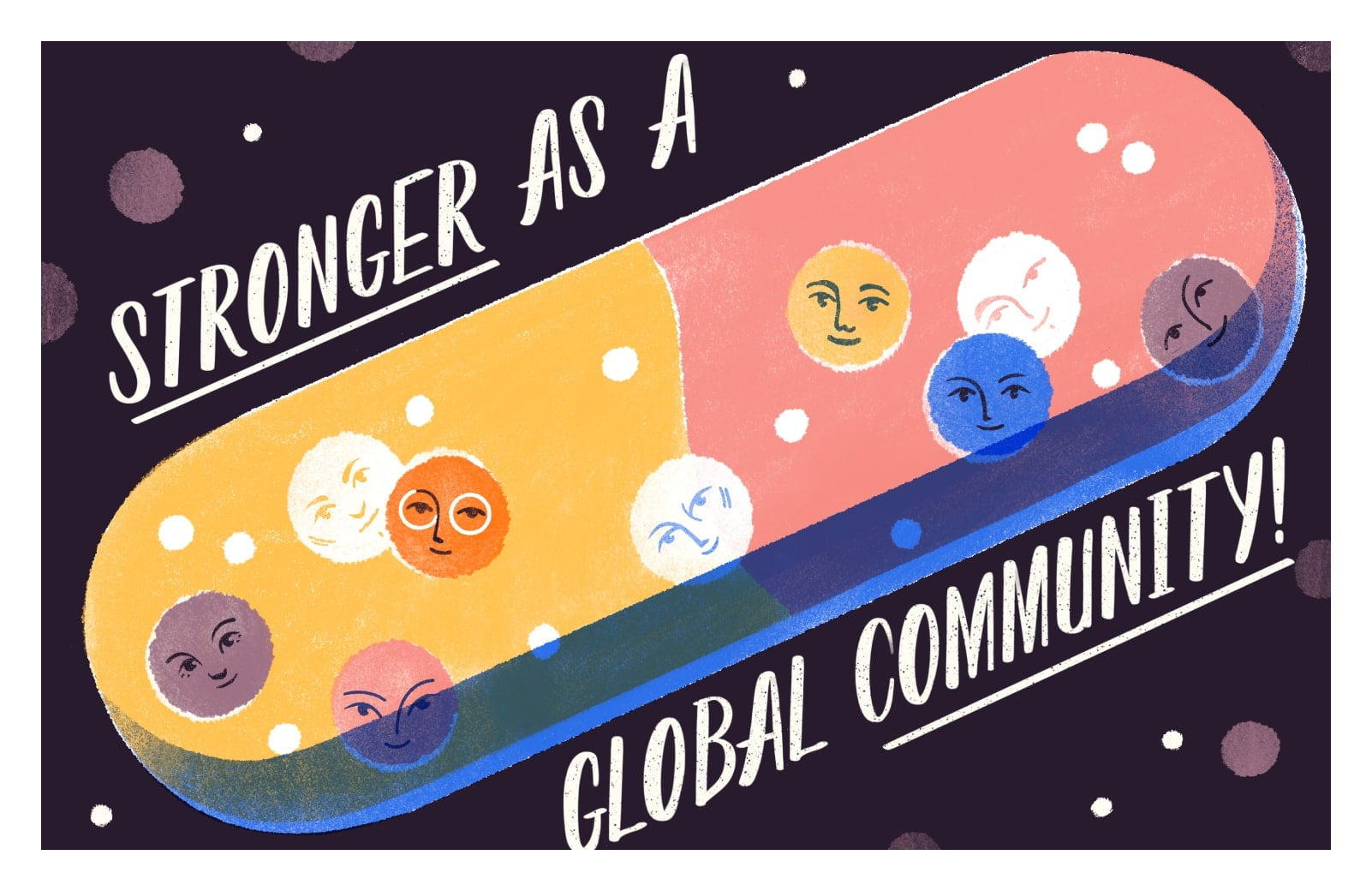 Stronger as a global community