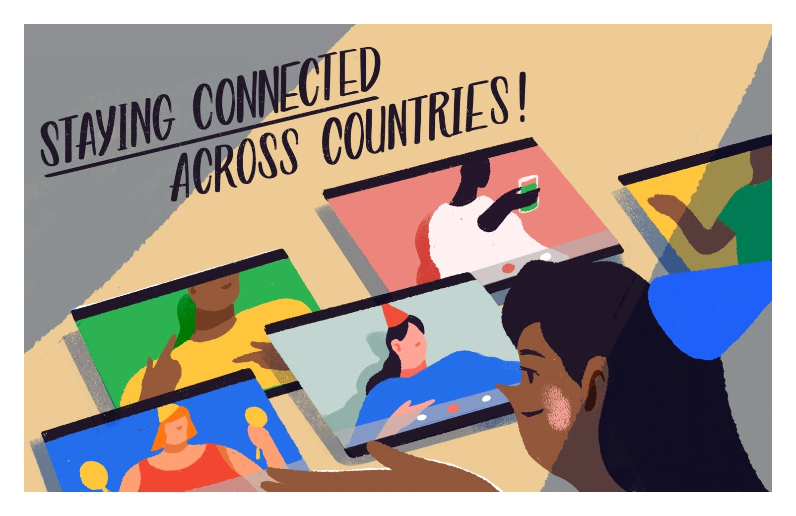 Staying connected across countries